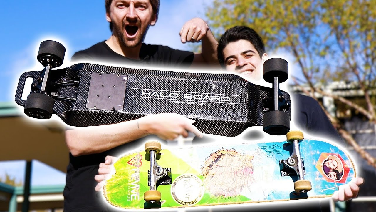 electric vs. standard skateboards